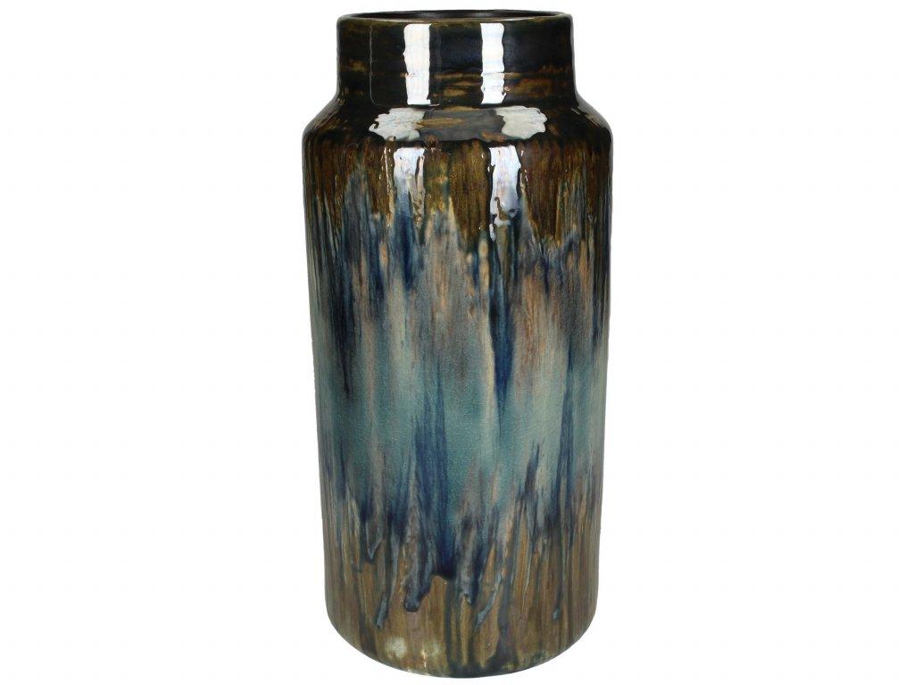 Vasi leir 15x31cm blue