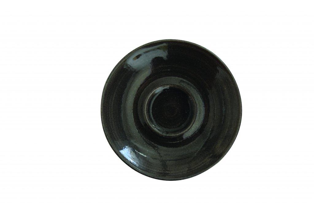 Undirskál 11,8cm Monochrome onyx