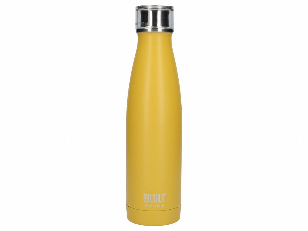 Flaska stál 480ml yellow