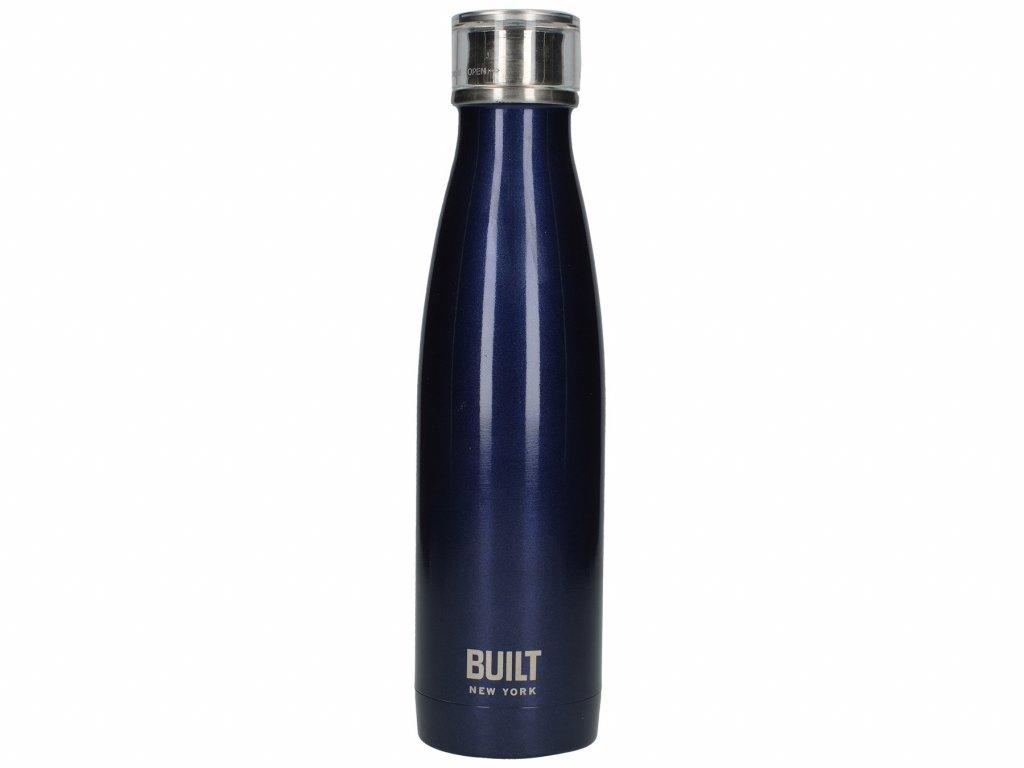 Flaska stál 480ml dark blue