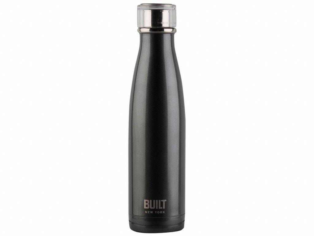 Flaska stál 480ml grey