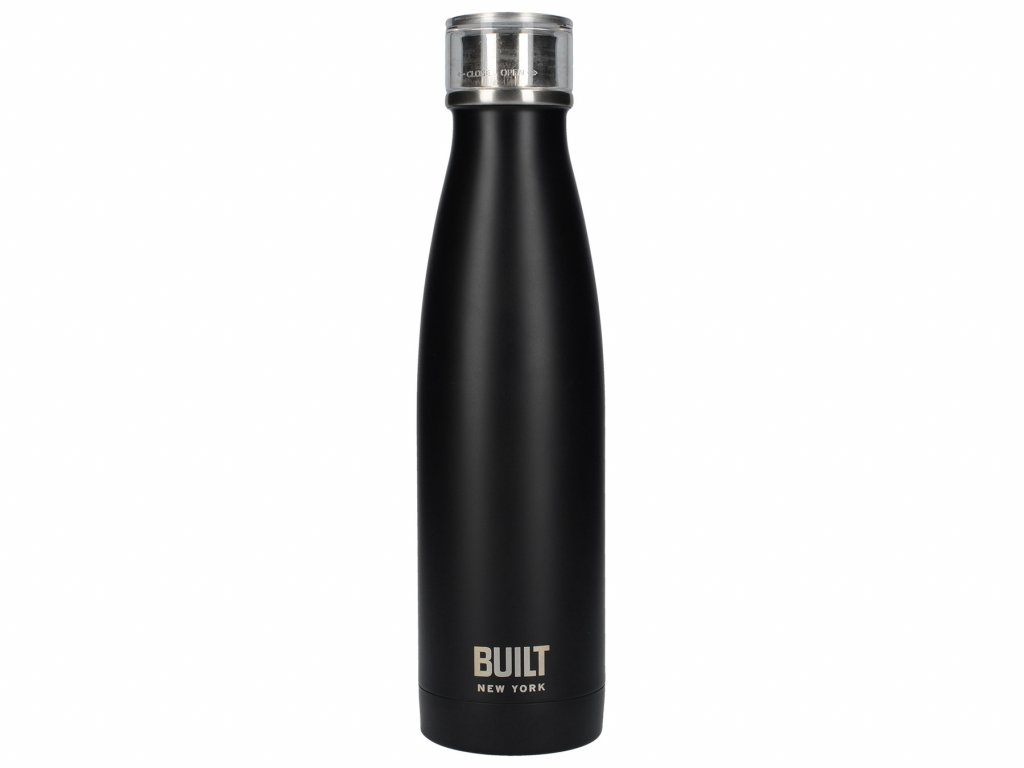 Flaska stál 480ml black