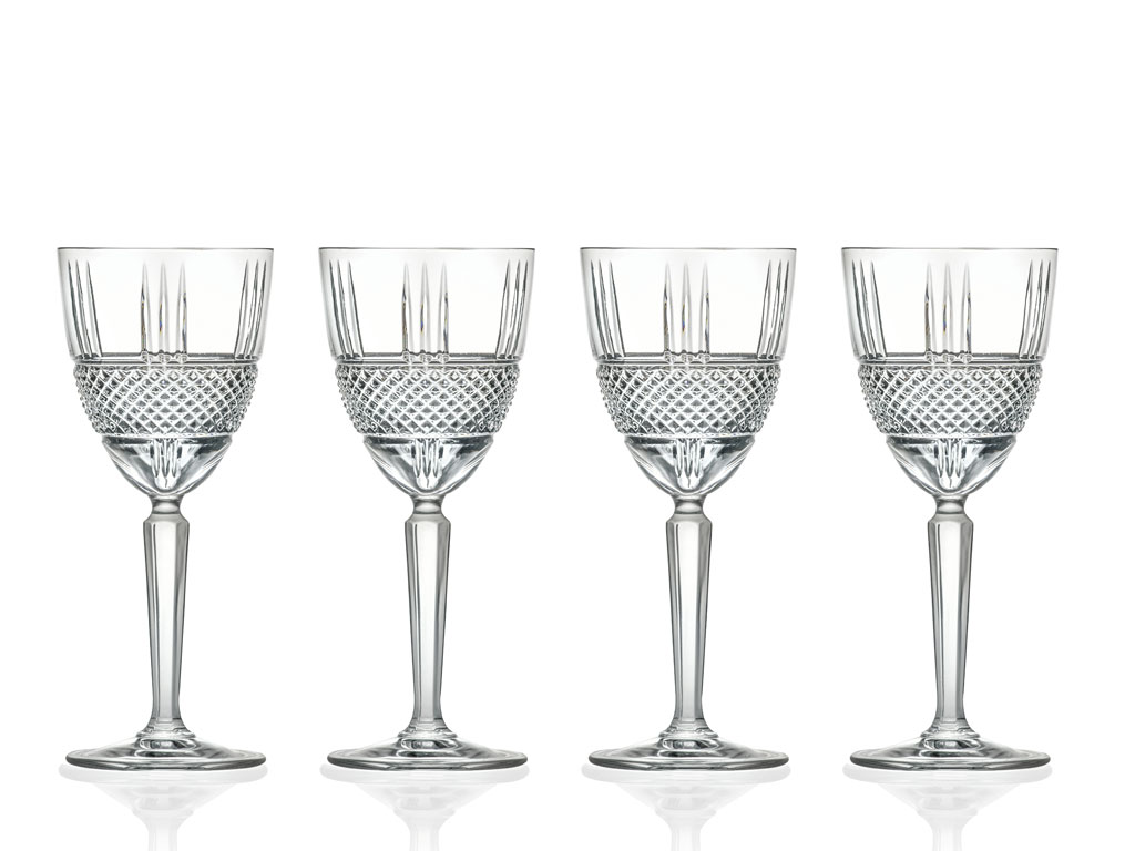 Rauðvínsglas 29cl Brillante 4stk