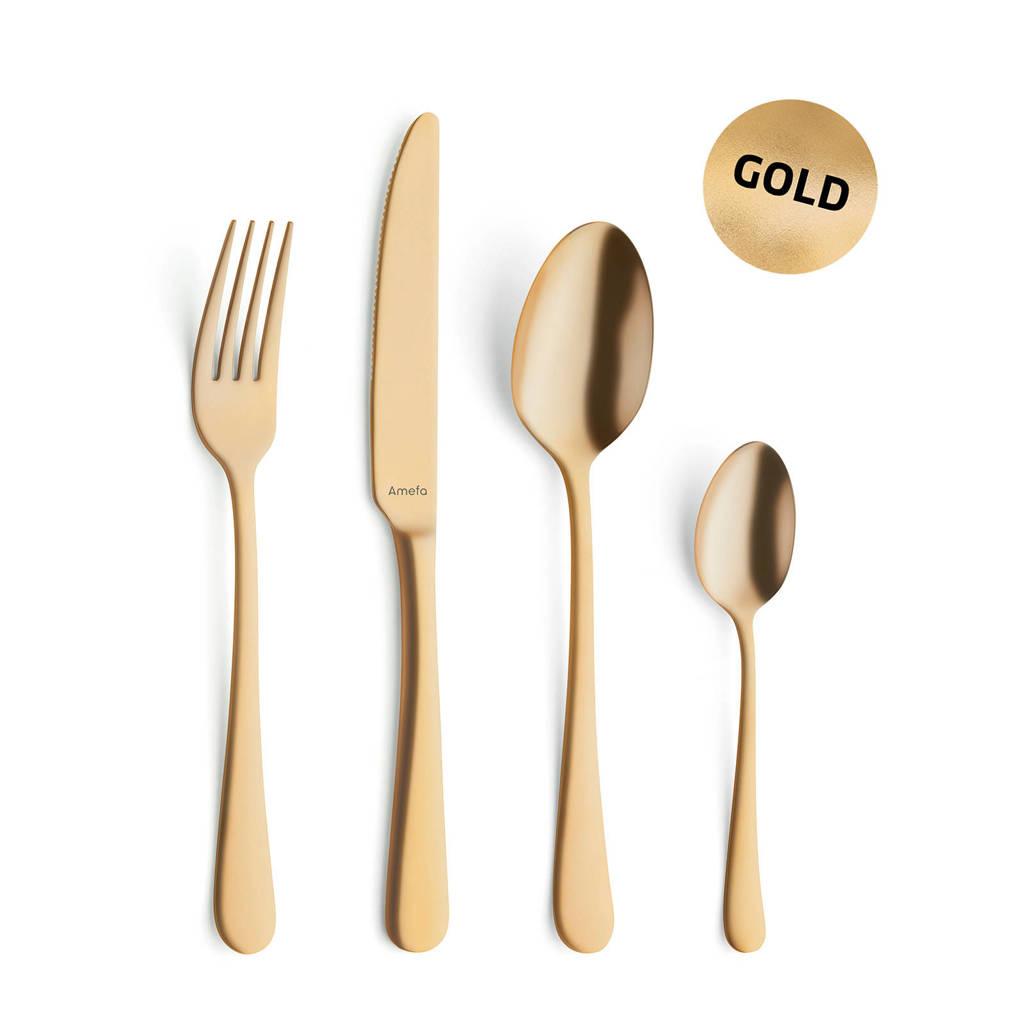 Hnífapör 24stk gold Vintage Austin