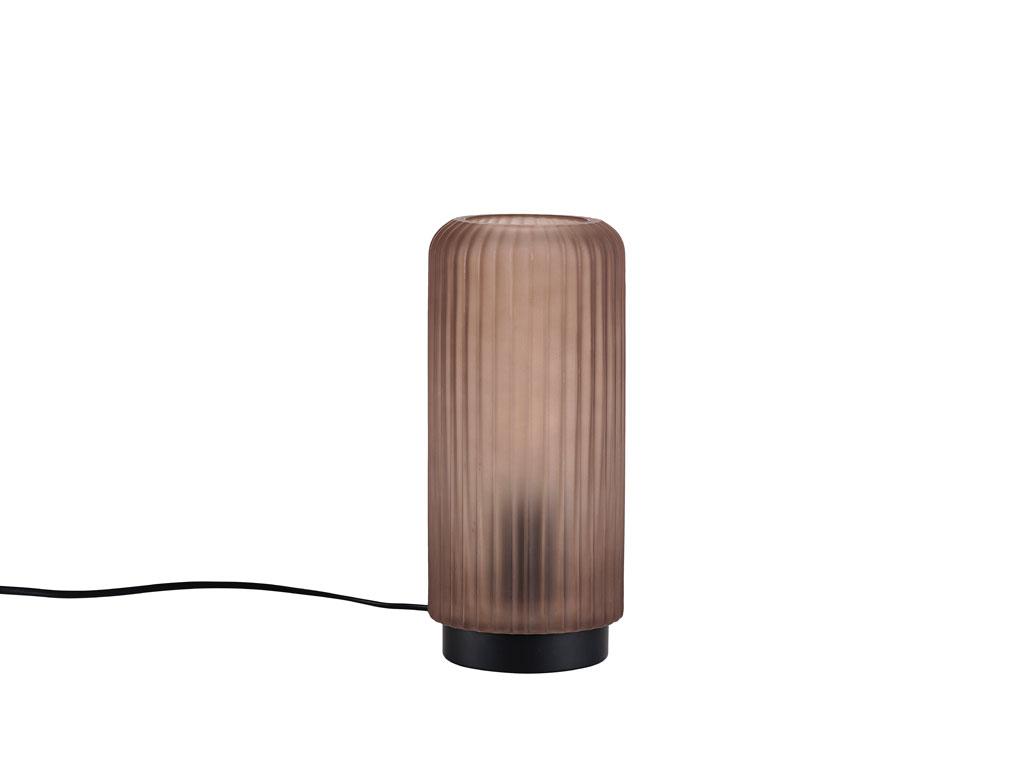 Lampi 24cm gler brown