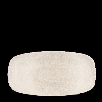 Diskur oblong 35,5x18,9 Raku agate grey