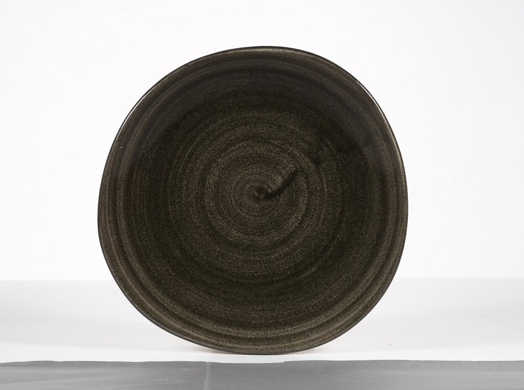Diskur organic 18,6cm Stonecast Patina iron black