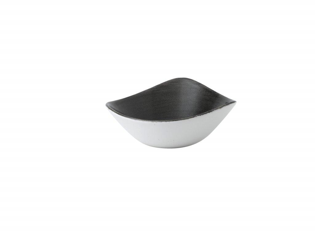 Diskur triangle 19,2cm Stonecast Patina iron black
