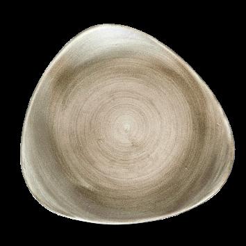 Diskur triangle 26,5cm Stonecast Patina antique ta