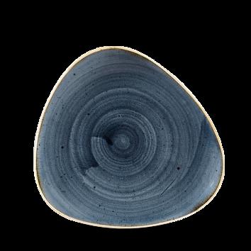 Diskur triangle 19,2cm Stonecast blueberry