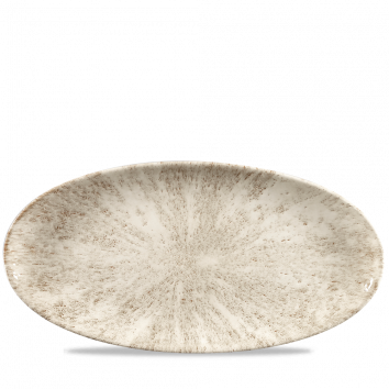 Diskur oval 35x17cm StudioPrint Stone agate grey