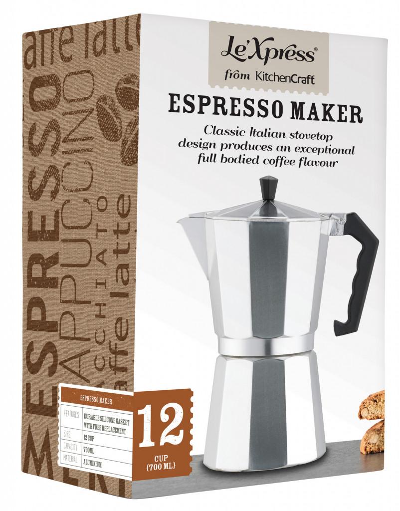 Kanna espresso 12 bollar LeXpress