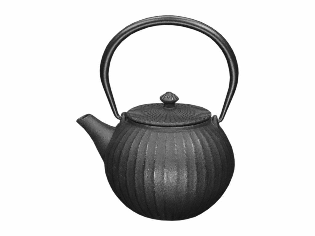 Teketill 1,1ltr svartur pottjárn